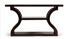 Erinn V. Maison Maple Console ~ really like the lines, reminds me of a moroccan design