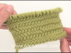 How to work Herringbone stitch in the round - YouTube