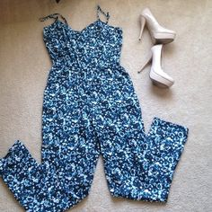 H&M Jumpsuit Brand new! Super cute light weight jumpsuit. Silky material H&M Dresses