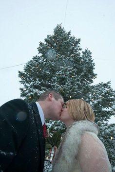 Our Christmas Eve wedding. Photo by Robert K. O'Daniell.