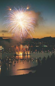 Fireworks over English Bay, Vancouver, British Columbia Vancouver City, North Vancouver, Vancouver Island, Travel Around The World, Around The Worlds, West Coast Canada, Sea To Shining Sea, British Columbia, Where To Go