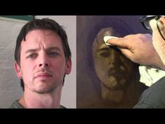 Creating Strong Contrast in an Oil Portrait with Mike Skidmore -  Umber Under Painting YouTube demo