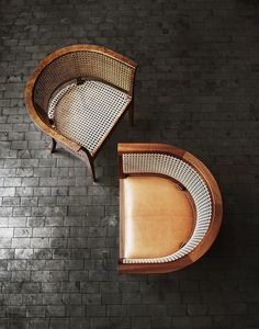 """The iconic """"Faaborg""""-chair from the Danish designer, Kaare Klint. dining chair seating"""