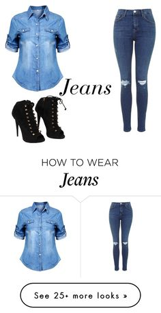 """Jeans"" by marymary737 on Polyvore featuring Giuseppe Zanotti"