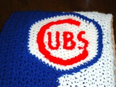 Chicago Cubs Baby Blanket by FiveLittlePiggys on Etsy,   Play Ball