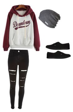 """Untitled #111"" by tayaaa12 on Polyvore featuring River Island, Neff, Vans, women's clothing, women, female, woman, misses and juniors"