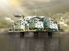 sea-steading-3. Pay Pal founder and early Facebook investor Peter Thiel has given $1.25 million to an initiative to create floating libertarian ...