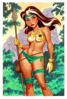 Rogue by Bruce Timm
