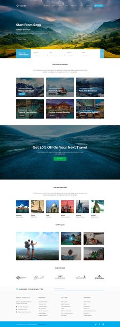 webdesign travel