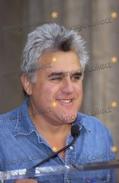 Jay Leno Picture - Nov 19 2004 Los Angeles CA  Comedian JAY LENO on Hollywood Boulevard where Tim Allen was honored with the 2270th star on the Hollywood Walk of Fame
