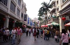 Zhongshan. Walking street. One of my favorite places to shop.