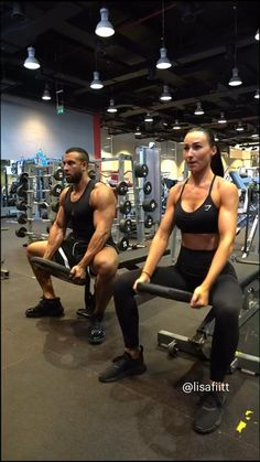 Full Body Hiit Workout, Gym Workout Videos, Fitness Workout For Women, Butt Workout, Fitness Goals, Fun Workouts, Upper Body Workout For Women, Back Workout Women, Workout Pics
