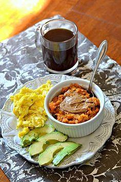 Sweet Potato Breakfast Bowls {Paleo + Whole30 Approved} | Peanut Butter Runner | Bloglovin'