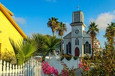 Joseph's -- the oldest German Catholic Church in Texas, and the oldest wooden church building in Galveston. built by German immigrants in Galveston Island, Galveston Texas, Wedding Venues Texas, Cathedral Church, Church Building, Texas Travel, Paradise Island, Travel Activities, Place Of Worship