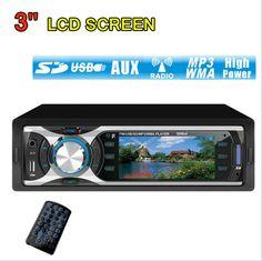 #MP3 Player MP4,MP5 Player Car #Radio Audio Stereo Head In Dash Fm Receiver