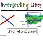 FREE line segment  You are getting a set of 8 math word wall posters featuring types of lines...    1.  line segment  2.  line  3.  ray  4.  intersecting   5.  parall...