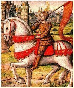 Faite prisonnière par le duc de Bourgogne Philippe le Bon qui assiège la ville de Compiègne, Jeanne d'Arc est livrée pour 10 000 livres aux Anglais qui l'emmènent à Rouen. Elle y arrive le 20 décembre. Ils escomptent la juger. Les Anglais la confieront eux-mêmes à la justice de l'Eglise en assurant qu'ils la reprendront si elle n'est pas accusée d'hérésie.  Pour eux Jeanne n'est pas inspirée par Dieu, mais par le Diable.