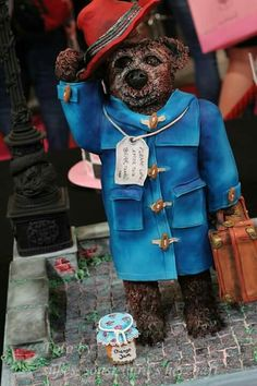 Paddington Torte für Dortmund 2015 / Paddington cake for Dortmund 2015