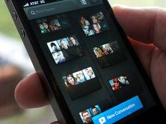 Convo Groups in iPhone App by Josh Hemsley