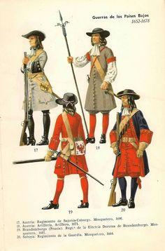 Imperial and German troops.