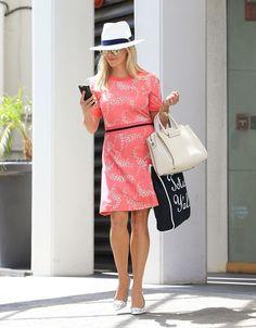 The Summer Standard: Chic Celebs in Sundresses  - HarpersBAZAAR.com