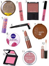 Ashley Brooke: The Best Makeup Products Under $5