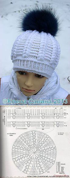 Discover thousands of images about GORRO GALA handmade crochet crochet arte de Vivir Bonnet Crochet, Crochet Cap, Crochet Diagram, Crochet Beanie, Love Crochet, Crochet Stitches, Knitted Hats, Crochet Poncho, Double Crochet