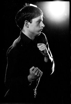 Joy Division: Ian Curtis by Kevin Cummins, Lancashire 1979