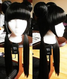 I found this picture of a cosplay wig for Mai from Avatar the Last Airbender. Avatar Cosplay, Mai Cosplay, Avatar Costumes, Cosplay Makeup, Cosplay Outfits, Cosplay Wigs, Best Cosplay, Cosplay Ideas, Everyday Hairstyles