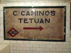 Madrid Metro, Spain, Train Stations, City, Metro Station, Old Things, Parking Lot, Viajes, Good Times