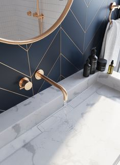 Bathroom decor for your bathroom remodel. Discover master bathroom organization, bathroom decor a few ideas, master bathroom tile ideas, master bathroom paint colors, and more. Bad Inspiration, Bathroom Inspiration, Mirror Inspiration, Mirror Ideas, Window Ideas, Bathroom Renos, Small Bathroom, Master Bathrooms, Bathroom Ideas