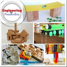 Engineering is all about finding out how things are built and why... Engineering for preschoolers is all about play -- come explore these great ideas!