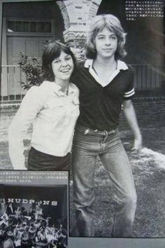 Kristy McNichol and Leif Garrett