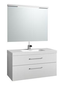 Svedbergs Forma Möbelpaket m. spegel 100 Delad front - Hemvaruhuset.se Bathroom Ideas, Bathrooms, Vanity, Inspiration, Dressing Tables, Biblical Inspiration, Powder Room, Bathroom, Full Bath