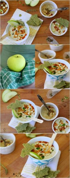 Creamy Apple-Anise Soup and Pumpkinseed