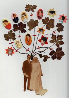 Family tree idea:  by Maissa Toulet