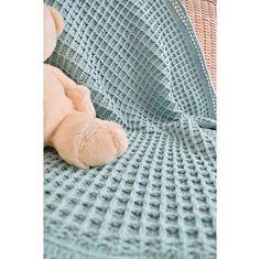 Baby Deken Haken Wafelsteek Groen Wit Haken Pinterest Haken