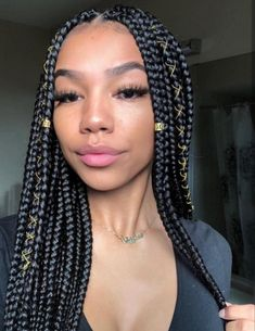 Box Braids #BoxBraids Protective Styles, South Africa, Atlanta, Celebrity, Wigs, Florida, Search, Chokers, Braids