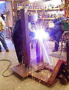 welding rusty  photo by matt giffels