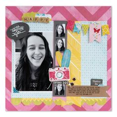 Capture the Fun Scrapbook Page by Cara Mariano - Scrapbook.com
