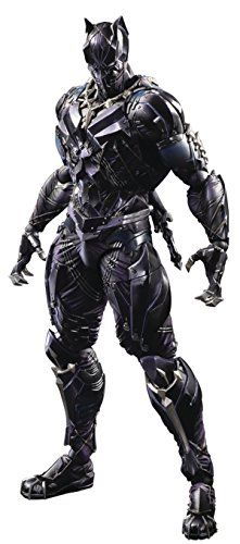 aa4736f156e Square Enix Marvel Universe Variant Play Arts Kai  Black Panther Action  Figure    Read