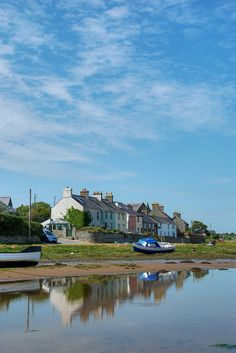 Summer Sky over Aberffraw, Anglesey, Wales