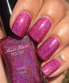 My Nail Polish Obsession: Sweet Heart Polish Jubilee & Second Star to the Ri...