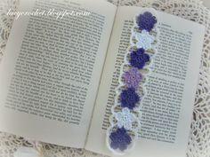 Lacy Crochet: Crochet Flower Bookmark