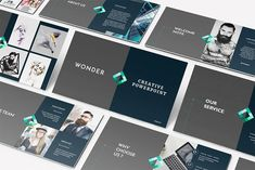 Creative Keynote Template by Incools Stokie on @creativemarket