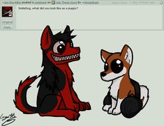 AWWWW!!! THIS IS SO CUTE!! CUTENESS OVERLOAD!!! - Ask The Creepypastas - Smile and mira