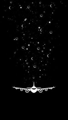 Star Plane IPhone Wallpaper - IPhone Wallpapers