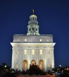Visit and do temple work inside as many temples as possible.  -Nauvoo, Illinois LDS temple-