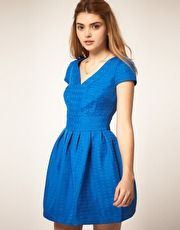 ASOS Tulip Dress in Texture
