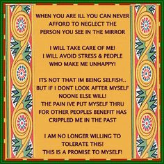 Important to all who suffer from Fibromyalgia or any other Chronic Illness!
